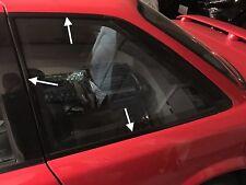 Rear Quarter WINDOW MOULDING TRIM OEM  ae92 1988 89 90 91 COROLLA Gts Sr5