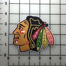 """Chicago Blackhawks 4"""" Wide VInyl Decal Sticker - BOGO"""
