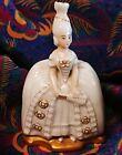 1926 Rosenthal Seb-Bavaria Signed Miniature Renaissance Lady With Fan Figurine