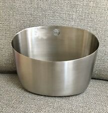 Michael Graves Signed Stainless Steel Container., Hole For Hanging