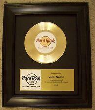 Personalized Gold 45 Record Album Customize Custom Plaque RIAA Type Award Trophy