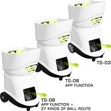 Portable Tennis Ball Machine 150 Balls Durable Training Robot Ts-03/06/08