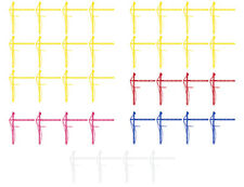 Bulk Order - Tower Crane Set of 36 Assorted Color - 12 inches wide Wall Decals