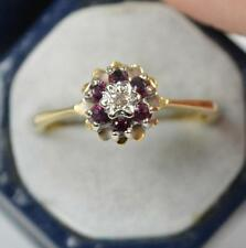 Wedding Ruby Yellow Gold 18 Carat Fine Rings