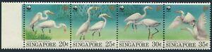 Singapore 670-673a,MNH.Michel 705-708. WWF 1993.Bird Chinese Egrets.