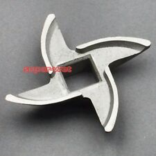 Manual Meat Grinder Blade Mincer Replacement Spare Stainless Steel Size 10 Part