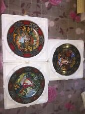 Russian Season series three plates good conditions Autumn and Winter