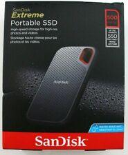 SanDisk 500GB Extreme Portable External SSD - USB-C, USB 3.1 (SDSSDE60-500G-G25)