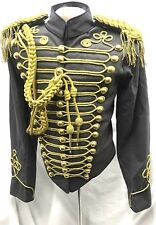 "Civil War Gold Hussar Grey Officers Jacket 42,44"",46""Epaulettes/A"