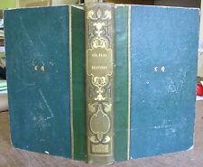 LESAGE HISTOIRE DE GIL BLAS 1838 VIGNETTES DE JEAN GIGOUX RELIE DEMI-CUIR