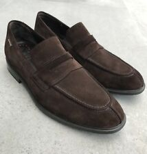 Mephisto Brown Suede Penny Loafer In AMAZING Condition Nice US 11 UK 10.5 Shoes