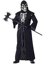Men's Crypt Master Halloween Costume Size X-Large (Sizes 40-46) Zombie Skeleton