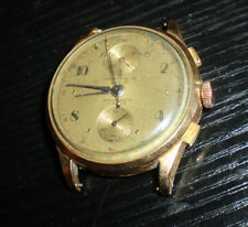 Chronograph,Suisse,Automat,17 Rubis, Rotgold 18 K