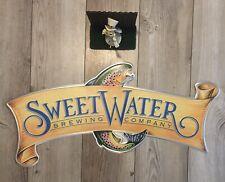 SWEETWATER BREWING Atlanta Take Two PILS Fish Logo 23 X 15 Tacker Beer Sign 420
