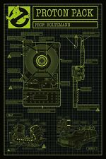 GHOSTBUSTERS 2016 - MOVIE POSTER / PRINT (PROTON PACK SCHEMATICS / BLUEPRINT)