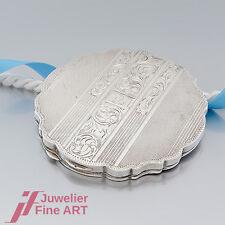 PUDERDOSE antik -900 Silber- mit Monogramm und Handgravur verziert-TOP ANGEBOT!