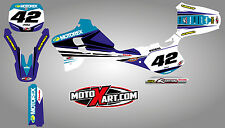 Yamaha YZ 125 / 250 - 1993 - 1995 Full custom graphics kit STRIKE style stickers
