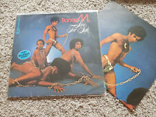 Boney M. - Love for sale  Disco Vinyl LP MIT POSTER