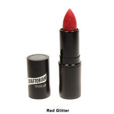 Red Glitter Lipstick Graftobian Cruelty Free USA Lip Stick Professional Makeup