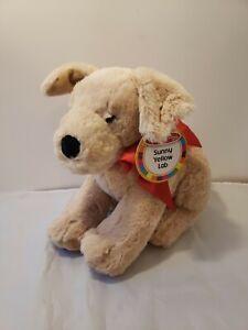 Sunny Yellow Lab Melissa & Doug Plush Dog Stuffed Animal Puppy Toy Labrador New