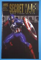Secret War #3 Bendis Gabriele Dell'Otto Art Marvel Comics 2004 Captain America