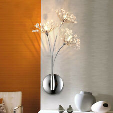 NEW Modern Dandelion LED K9 Crystal wall lamp Wall sconce Bedroom bedside Light