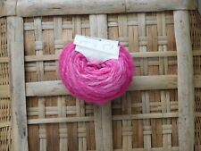 Pink Orchid 56 Yards Hand Spun Kettle Dyed DK Weight Wool Yarn