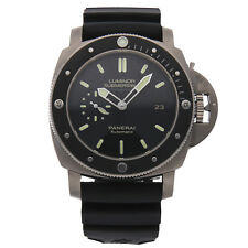 Panerai Luminor Submersible Amagnetic 3-Days Titanio Auto Mens Watch PAM 389