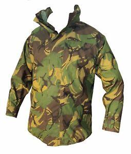 DPM Camo Waterproof GORETEX JACKET British Army Military - LIGHTWEIGHT- Grade 1