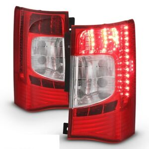 Fit Chrysler 11-16 Town & Country Replacement Rear LED Tail Lights Pair Set