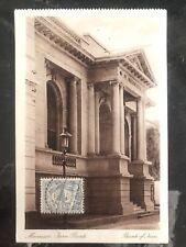1926 Netherlands Indies RPPC Postcard Cover to Garfield NJ USA Bank Of Java