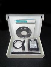 ALFA Network AWUS036Hv5 802.11 Long Range Wireless WIFI USB Adapter ~ Pre-Owned