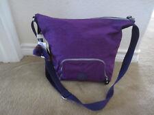 "Kipling Dorota 15"" Shoulder Crossbody Bag Tile Purple HB7265 486 NWT"