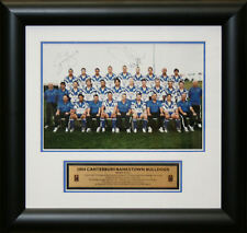 2004 Bulldogs Limited edition Team Photo signed by Ryan and Williams