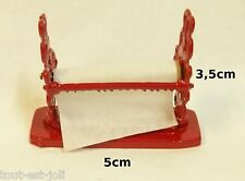 dérouleur à papier miniature,maison de poupée,vitrine,ménage,magasin *CL3