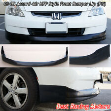 HFP Style Front Bumper Lip (Urethane) Fits 03-05 Honda Accord 4dr