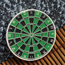 Colorful Dart Board National Series Commemorative Coin Silver Coin Collection