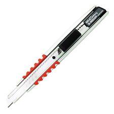 NT Cutter Aluminum Die-Cast Cushioned Grip Auto-Lock Utility Knife (A-400GRP)