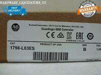 2020 New Sealed Allen Bradley 1756-L83ES /B GuardLogix Logix5580 Processor