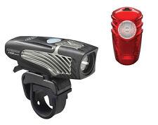 Niterider Lumina 1100 Boost Faro Luz Bici Lúmenes + Solar 100 Luz Trasera USB