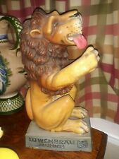 Vintage Lowenbrau Munchen Beer Lion - Statue - Bar Display. ~ 14� Tall