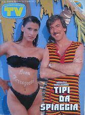 SORRISI 33 1990 Sabina Stilo Marco Columbro Red Ronnie Ricchi e Poveri