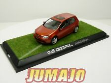 1/43 SCHUCO VOLKSWAGEN : Golf V GOAL Limited Edition