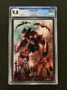 "Transformers #24 CGC 9.8 (2020) - Devil Dog Comics Edition B - ""Virgin"" cover"