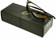 Brand New Boxed Oakley-Juliet-Carbone-Noir Iridium Polarisé-très rare