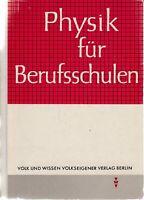 Physik für Berufsschulen Volk und Wissen 1964 DDR-Lehrbuch