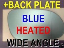 Mercedes CLK W209 A209 C209 W208 A208 C208 SLK R170 AUßENSPIEGEL-GLAS blau