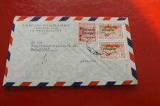 *Brief Beleg - Boliviennach Deutschland - Salzgitter 50-er Jahre (83)