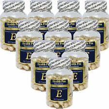 10 x Squalene & Vitamin-E Skin Oil 90 Capsule, Moisture Complex, Made In USA