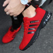 Размер 7-13 кроссовки мужские воздушной подушки обувь, уличные, спортивные повседневные дышащие фитнес